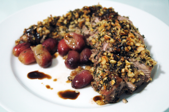 grape pork