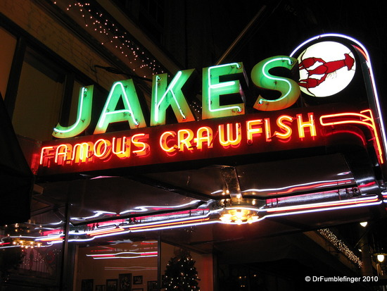 Jake's Famous Crawfish, Portland  Gastronomical Wayfaring
